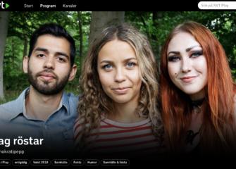 Valprogrammet #jagröstar på SVT Play