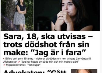 Saras historia i övrig press