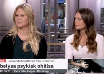 Aldrig Ensam i SVT:s morgonstudio