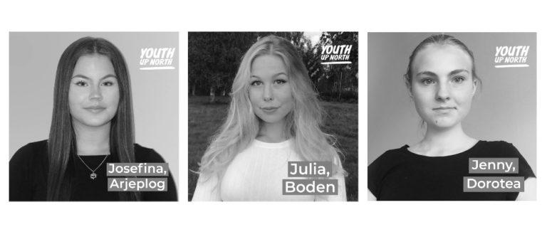 Tre nya korrespondenter från Norrland